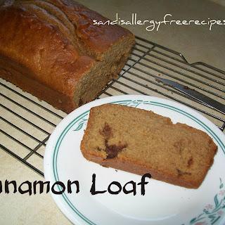 Cinnamon Loaf (Gluten Free/ Dairy Free/ Refined Sugar Free)