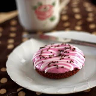 Chocolate Doughnuts, baked.