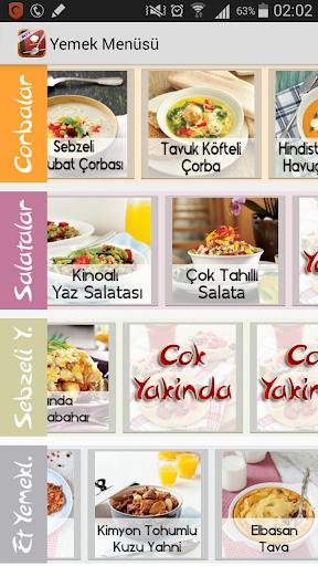 【免費個人化App】Yemek Menüsü - İnternetsiz-APP點子