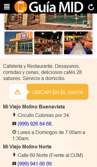 Guia MID Directorio de Mérida - screenshot