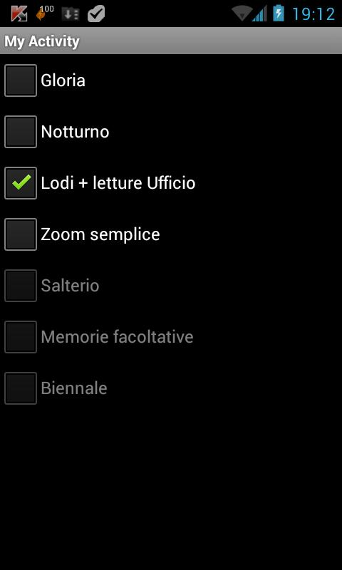 ePrex Liturgia delle Ore - screenshot
