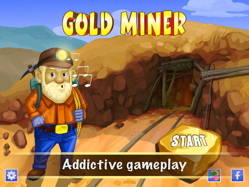 Gold miner deluxe- screenshot