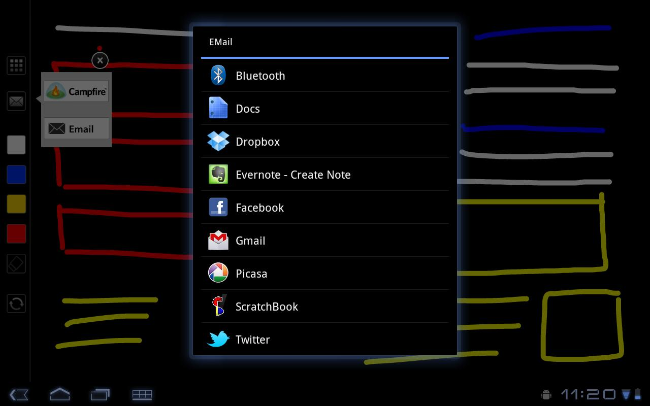 ScratchBook - screenshot