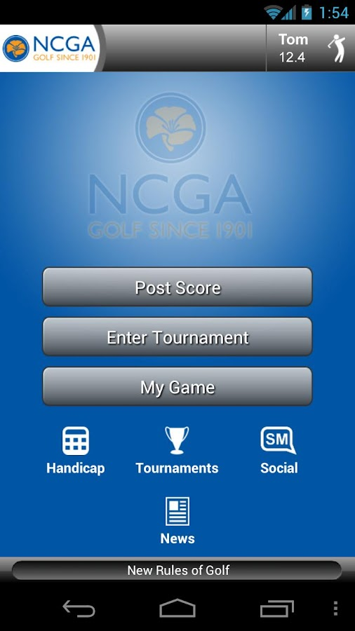 my NCGA- screenshot