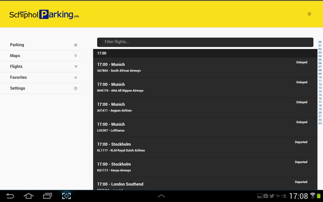 Schiphol Parking - screenshot