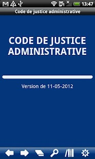 FR Code Administrative Justice