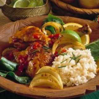 Caribbean Lime Chicken.