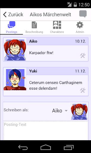 Animexx.de: RPGs Beta