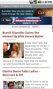 Hollywood News & Gossip - screenshot thumbnail