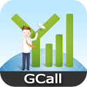 GCall Cheap International Call logo