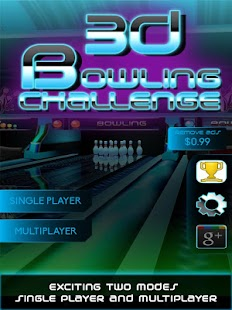 3D Bowling Challenge