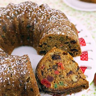 Aunt Angie's Christmas Fruitcake.