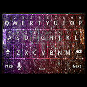 Girly Glitter Keyboard Skin