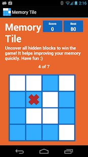 Memory Tile 'Brain Training'