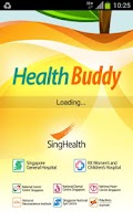 Screenshot of Health Buddy