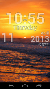 DIGI Clock Live Wallpaper - screenshot thumbnail