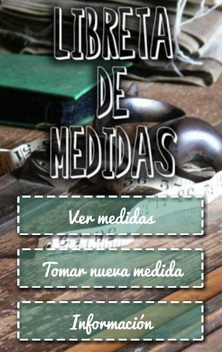Libreta de Medidas free