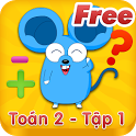 Hoc Tot Toan Lop 2 - Tap 1Free icon