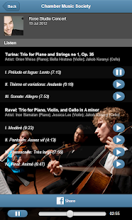 Chamber Music Society- screenshot thumbnail