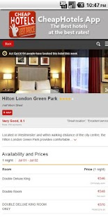Cheap Hotels, apartment offers- screenshot thumbnail