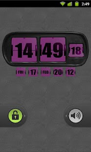3D Animated Flip Clock PINK - screenshot thumbnail
