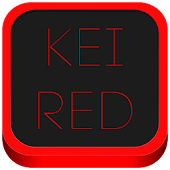Kei Red Icon Pack