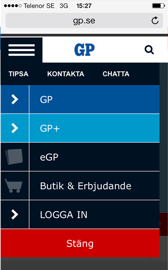 GP - screenshot