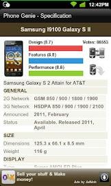 Phone Genie - GSMArena Browser Screenshot 3