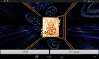 Screenshot of 3D Maa Durga Live Wallpaper