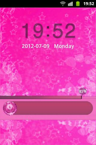 GO Locker Pink Cute Star Buy