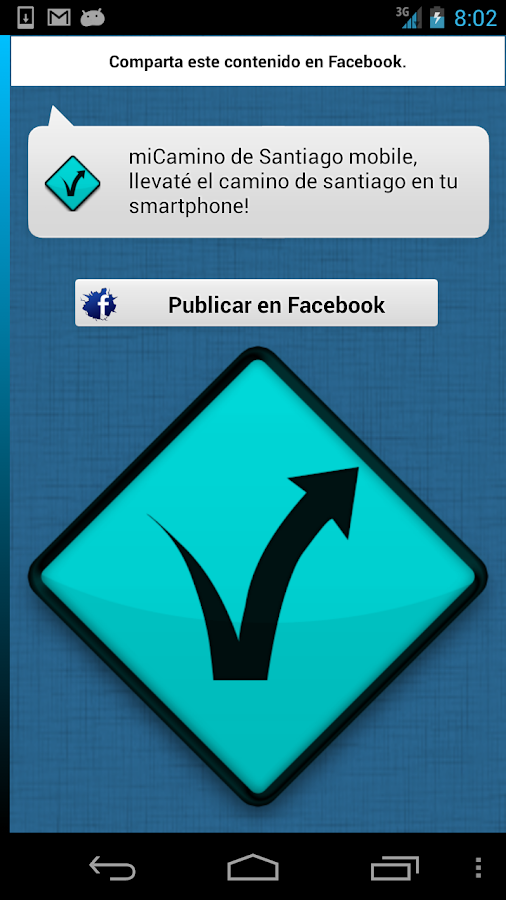 Camino de Santiago Handy - screenshot