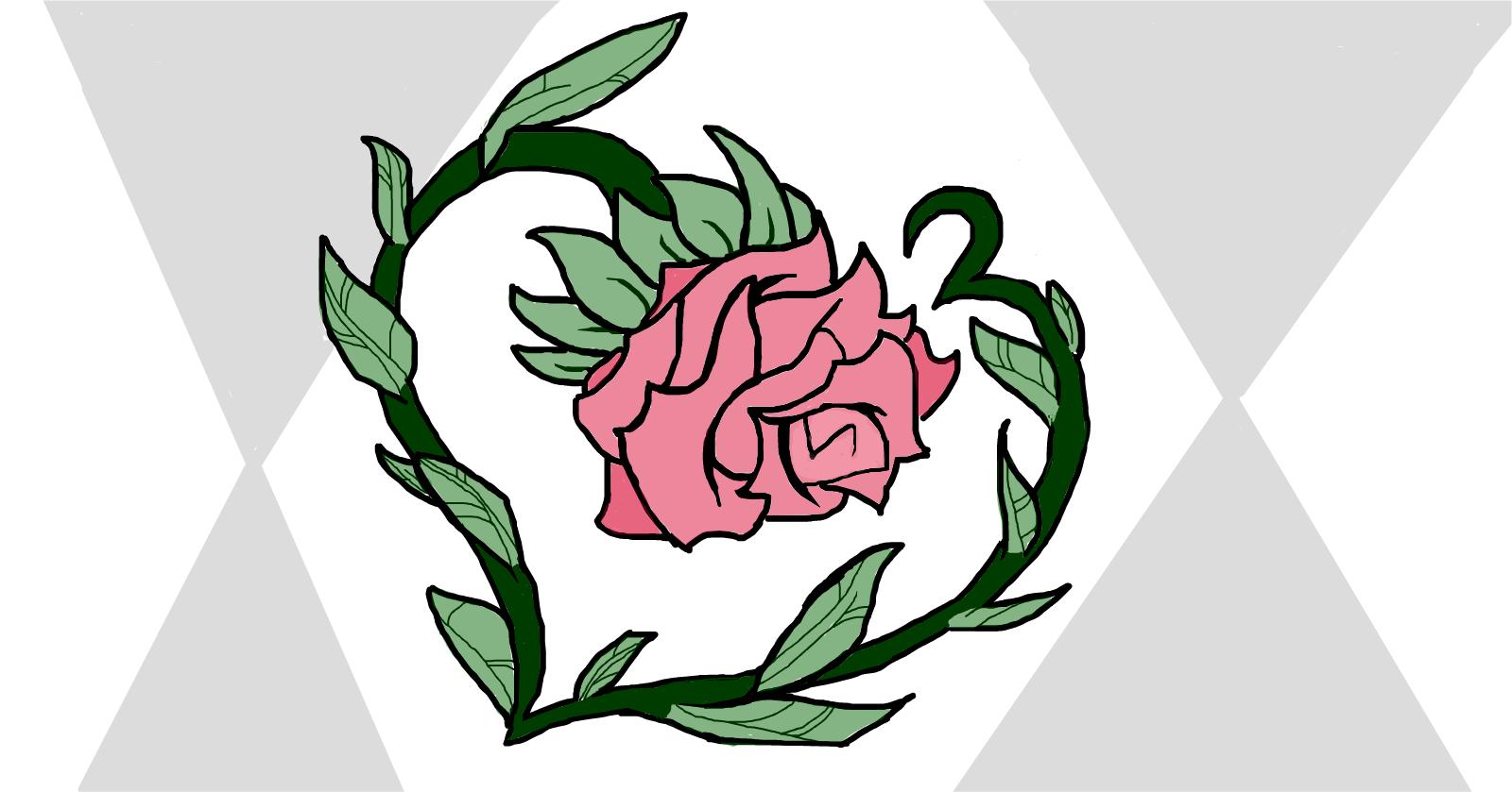 Simple Rose » drawings » SketchPort