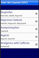 Screenshot of Migraine Treatments