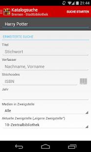 Web Opac: 800+ Bibliotheken - screenshot thumbnail