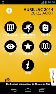 Festival Aurillac - screenshot thumbnail
