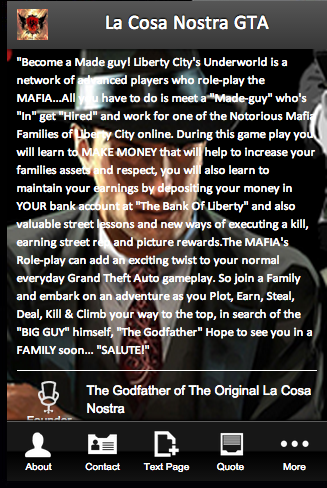 La Cosa Nostra GTA
