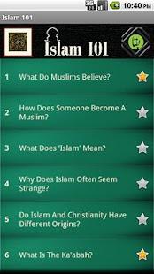 Islam 101- screenshot thumbnail