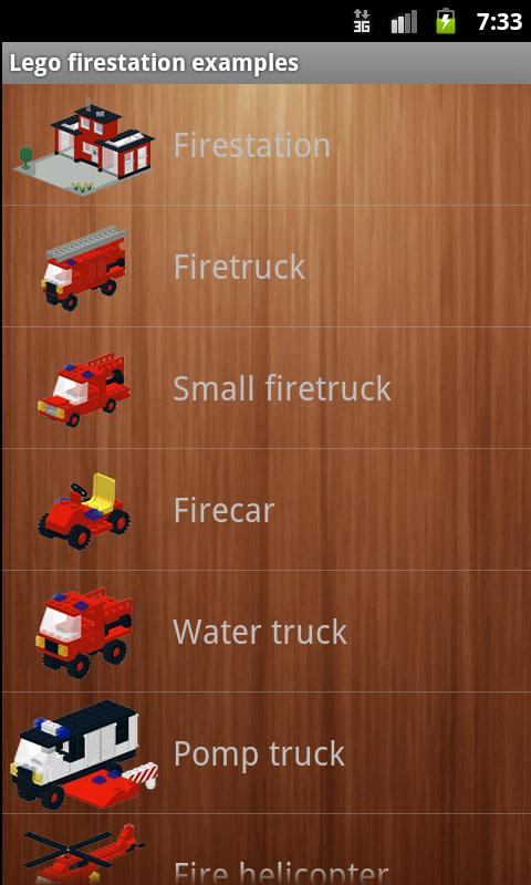 Lego fire station instructions - screenshot