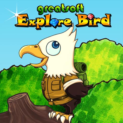 探險鳥 LOGO-APP點子