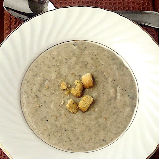 Portobello Mushroom Soup.