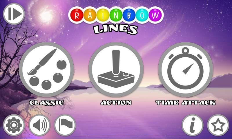 Rainbow Lines- screenshot