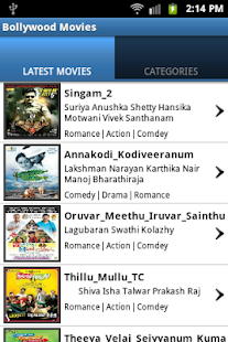 Bollywood Movies - screenshot thumbnail
