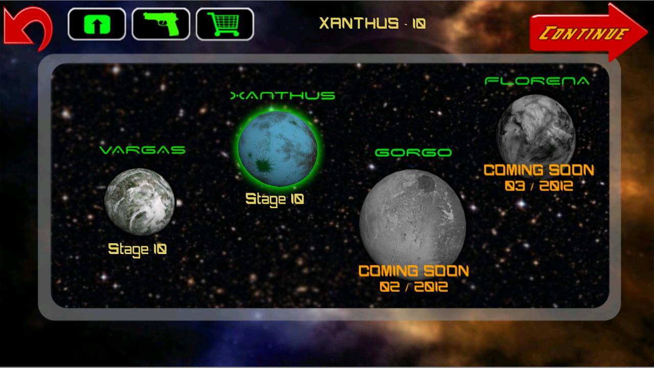Galaxy Defenders - space games - screenshot
