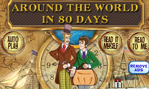 【免費書籍App】Around the World in 80 Days-APP點子