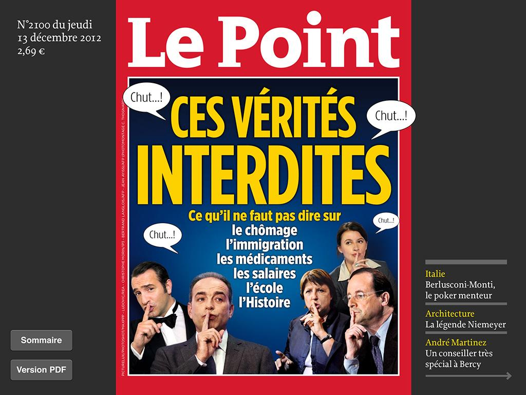 Le Point Hebdo- screenshot
