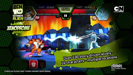 Ben 10 Xenodrome - screenshot thumbnail