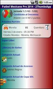 Soccer Mexican League - screenshot thumbnail