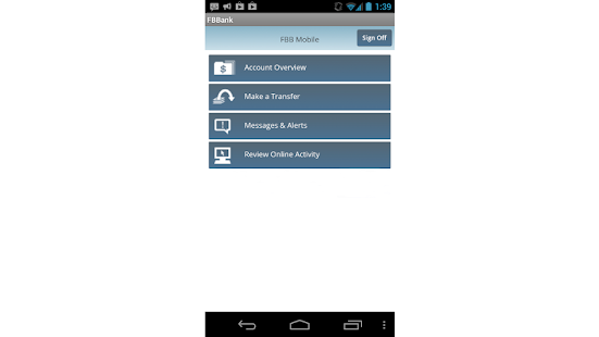 Farm Bureau Bank –  FBBmobile - screenshot thumbnail