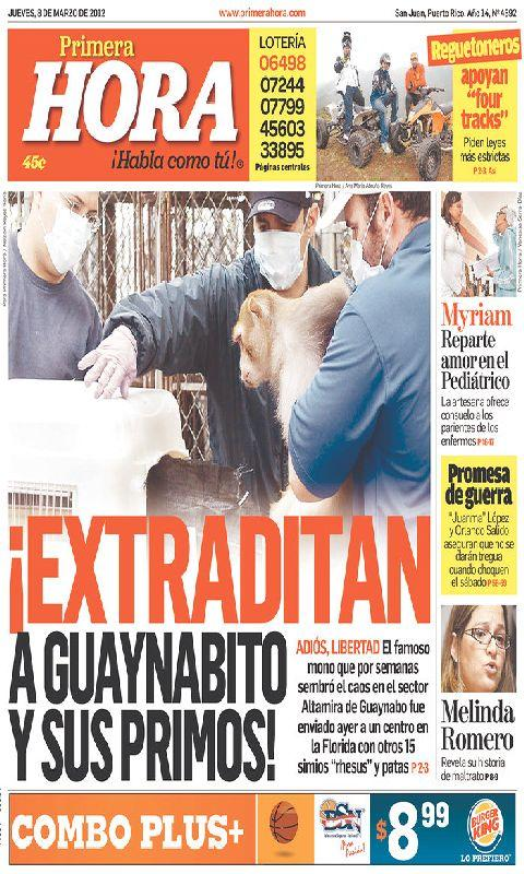 Puerto Rico Newspaper - screenshot