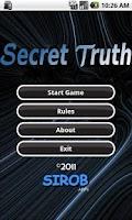 Screenshot of Secret Truth Lite